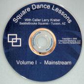 mainstream square dance DVD
